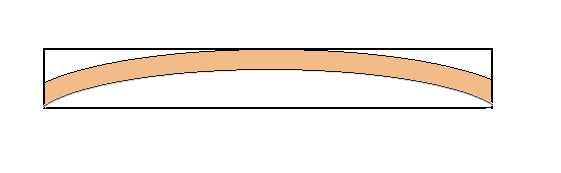 Où trouver des sections de bois courbés ?