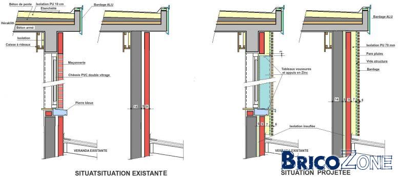 R novation isolation mur creux par ext rieur for Isolation mur exterieur renovation