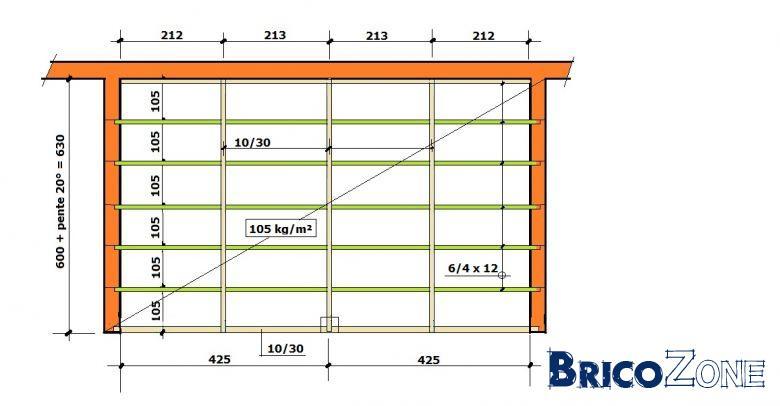 aide section bois pour nouveau toit. Black Bedroom Furniture Sets. Home Design Ideas