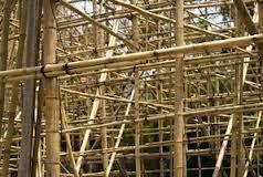 Mezzanine en bambou ?