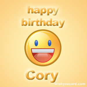 bon anniversaire cory