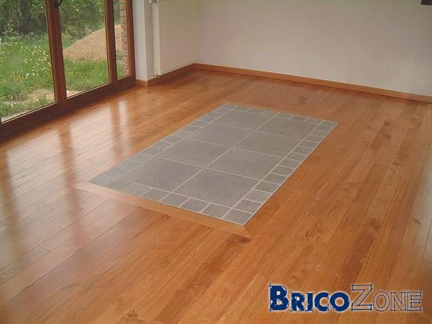 Cohabitation de parquet bois et de carrelage for Parquet carrelage
