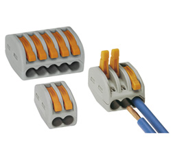 Connexion de câble dans des boîtes de dérivation