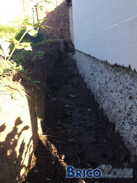 Etanchétité entre dalle et bloc abri de jardin