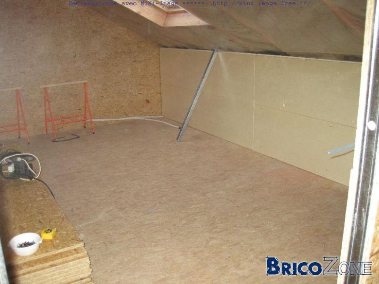 Chambre - condensation paroi gyproc - isolation