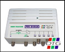 Ampli-répartiteur pour 3 TV + Modem (Cable)