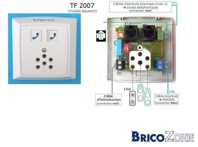 b box 2 de belgacom prise 5 p les ou pas. Black Bedroom Furniture Sets. Home Design Ideas