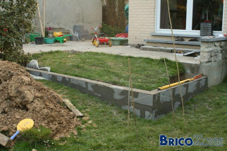 Simple Img With Dalle Beton Jardin
