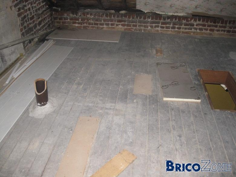 isoler sur plancher grenier toiture bofbof. Black Bedroom Furniture Sets. Home Design Ideas
