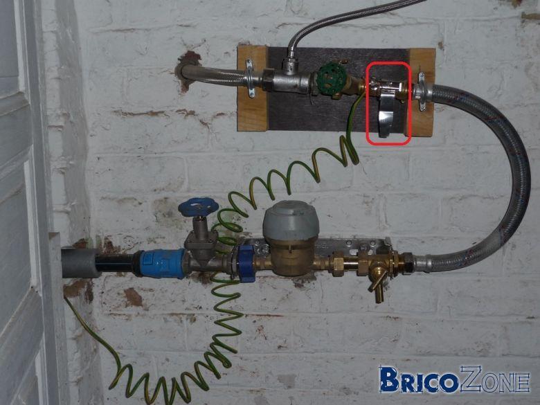 Equipotence sur compteur eau et gaz - Reducteur de pression d eau apres compteur ...