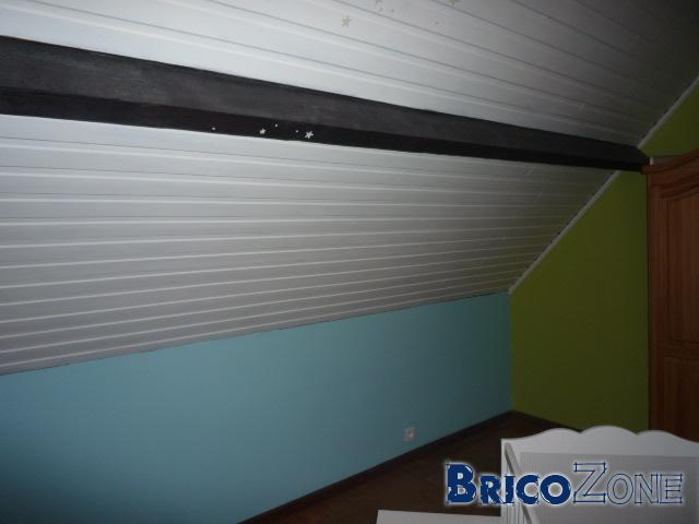 Comment poser un faux plafond en lambris pvc - Comment poser du lambris pvc sous toiture ...