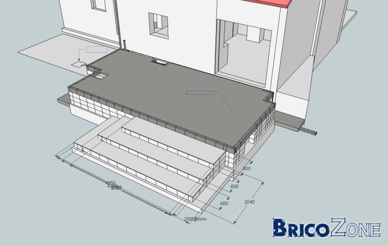 realisation de 3 tres grandes marches en beton quelle m thode employer. Black Bedroom Furniture Sets. Home Design Ideas