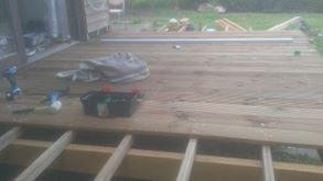 Deux réalisations de terrasse (aide)