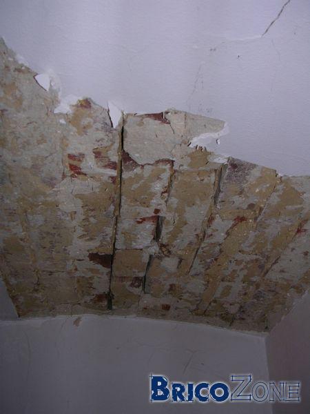 Répareration d'anciennes voussettes