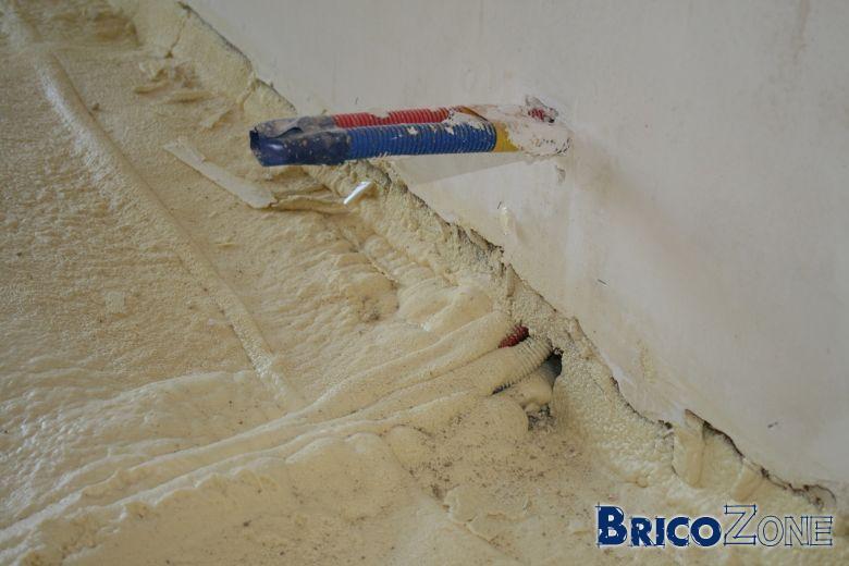 Prolonger des tuyaux alpex de chauffage - Point de saignee ...