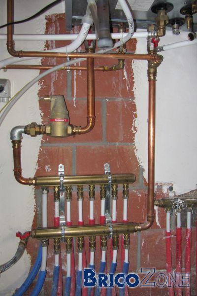 Comment changer une soupape de sécurité sur le circuit sanitare ?