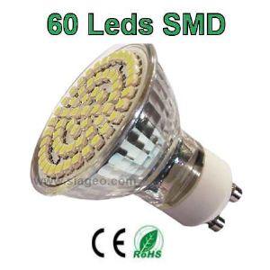 spot led GU10 60 leds SMD