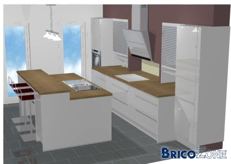 Eclairage cuisine - Eclairage plafond cuisine ...