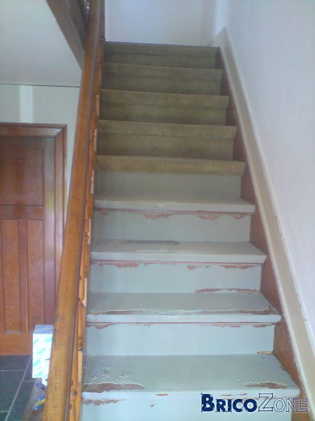 Sablage de mon escalier! ~ Sablage Porte Bois