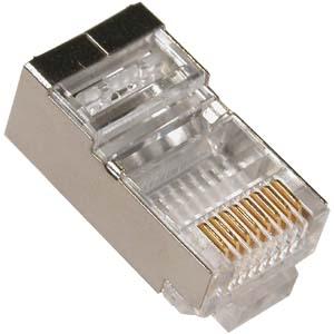 Prise rj45 blind e o mettre le fil de blindage - Connecteur rj45 cat 6 ...