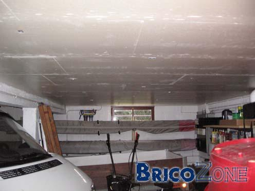 Isolation plafond sous sol garage for Isolation thermique sol garage