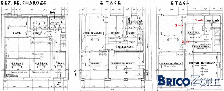 murs porteurs et agencement appartement. Black Bedroom Furniture Sets. Home Design Ideas