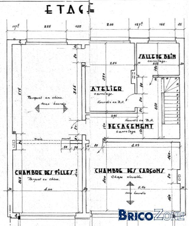 reconnaitre un mur porteur. Black Bedroom Furniture Sets. Home Design Ideas