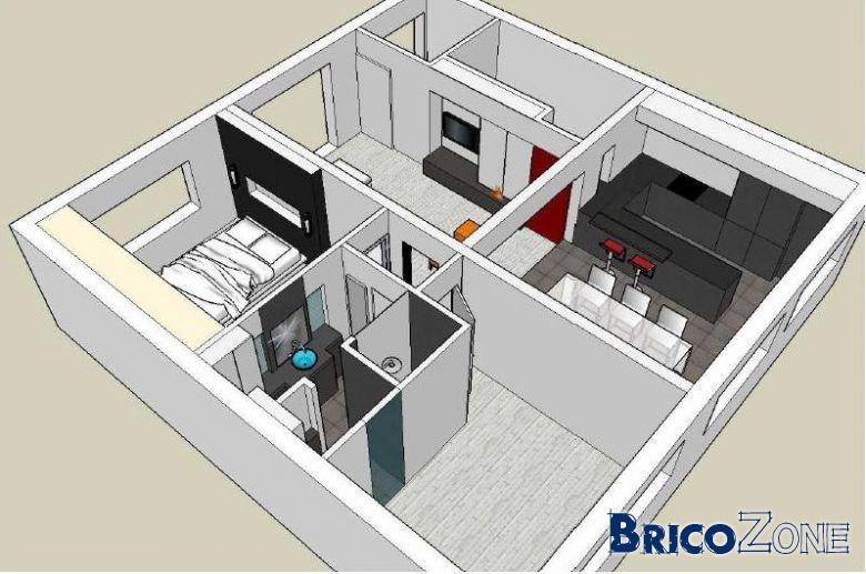 murs porteurs et agencement appartement page 2. Black Bedroom Furniture Sets. Home Design Ideas