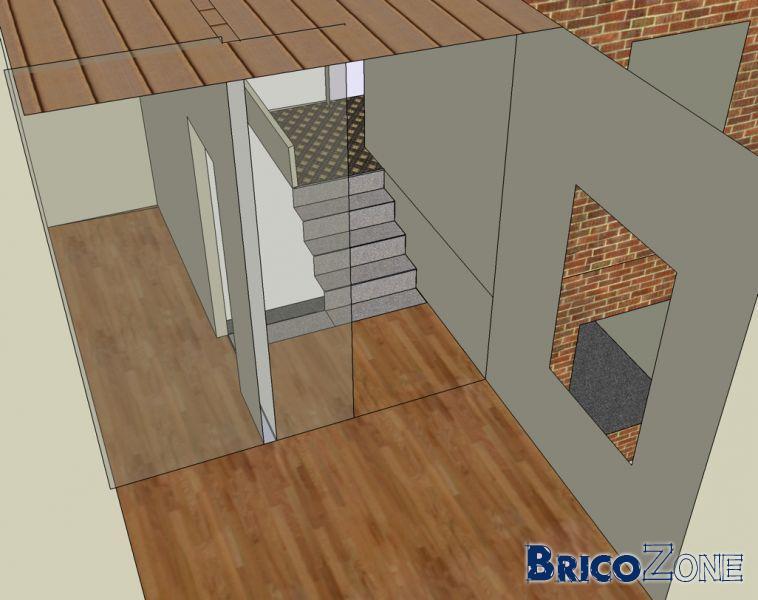 Besoin d'aide pour calcul de 2 escaliers