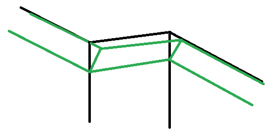quart de rond angle impossible a trouver. Black Bedroom Furniture Sets. Home Design Ideas