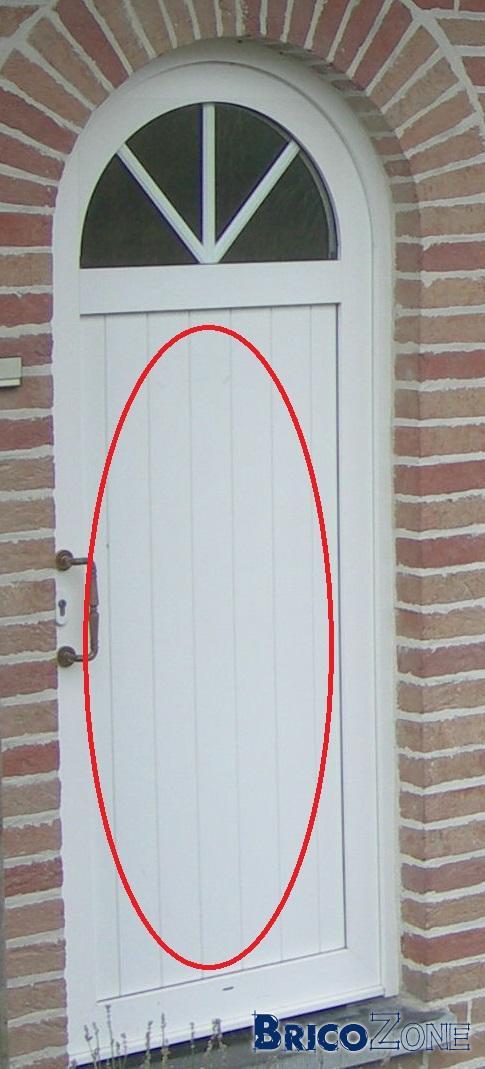Changer Panneau Milieu Porte Pvc - Panneau de porte