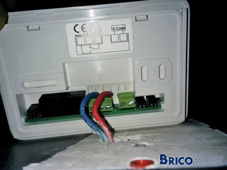 connecter thermostat Vemer