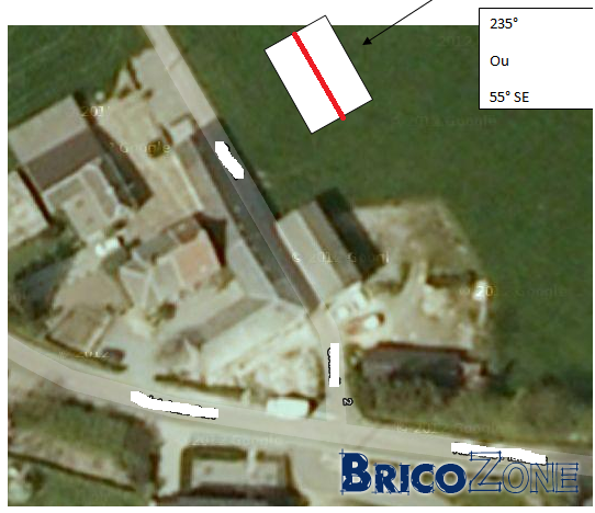 Orientation PV: Sur quel pan de toit