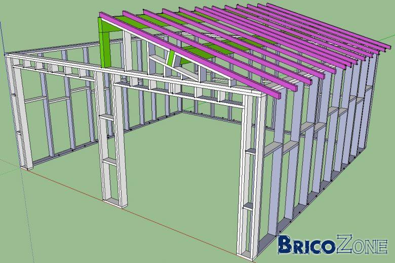 plan de garage archives - page 2 sur 14 - canche expertise - Plan Garage Ossature Bois Toit Plat