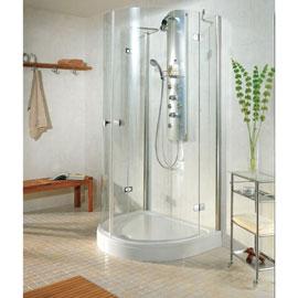 douche italienne sur mur unique