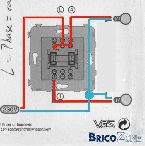 probleme cablage interrupteur 2 allumages