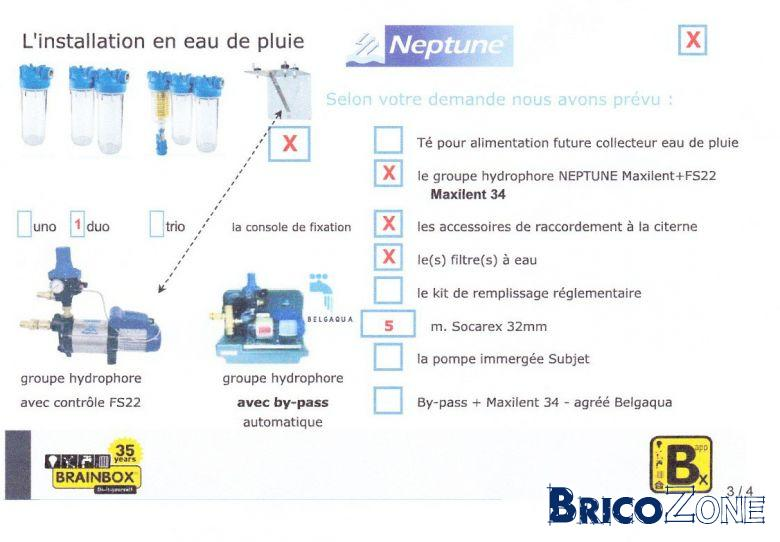bypass sanitaire
