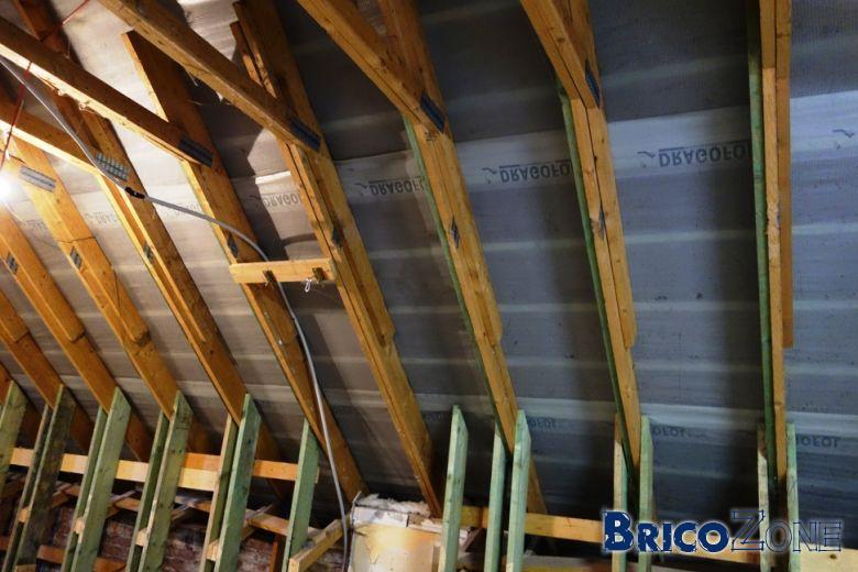 Isolation de mon toit en vue de l'aménagement de mon étage