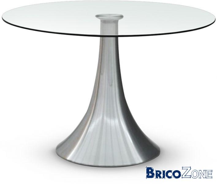 Pied central pour table ronde - Table ronde moderne pied central ...