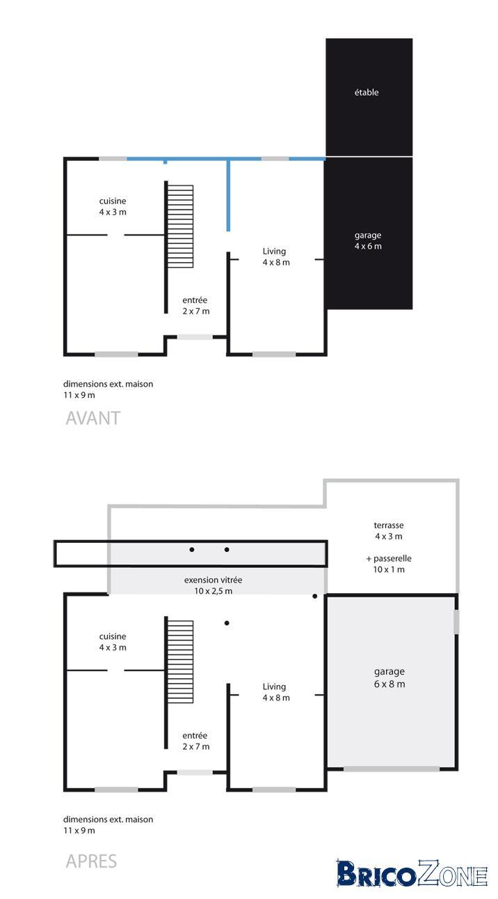 Cout construction maison ytong for Tableau cout construction maison