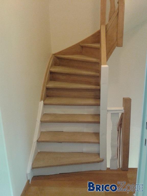 Avis sur peinture escalier