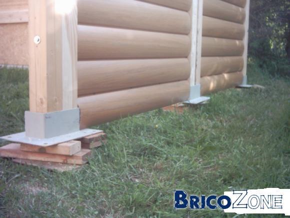 Construire un box pour cheval - Poteau beton 12x12 ...