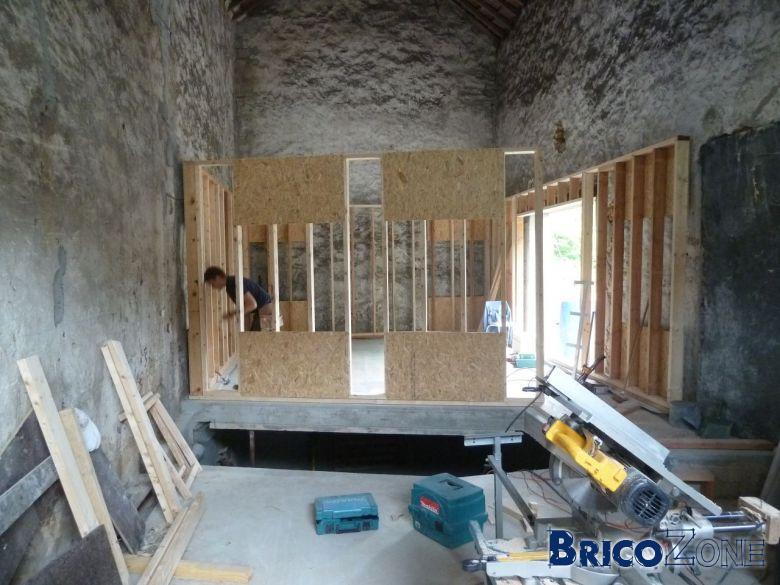 ossature bois. Black Bedroom Furniture Sets. Home Design Ideas