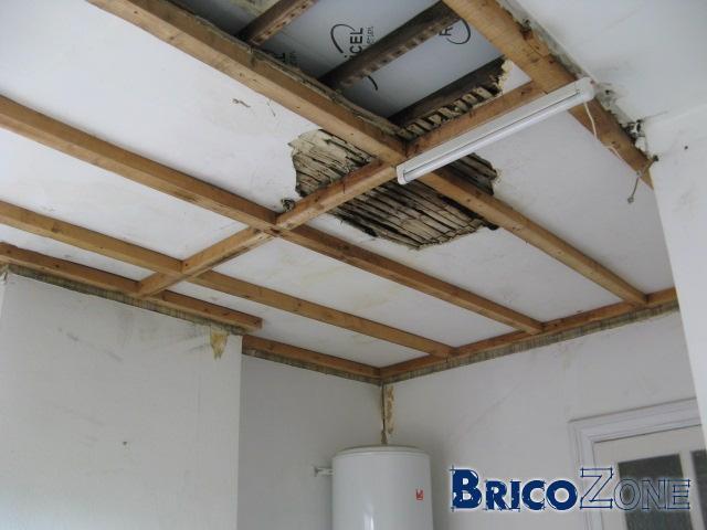 Quelle type de structure pour un faux plafond - Ossature metallique pour faux plafond ...