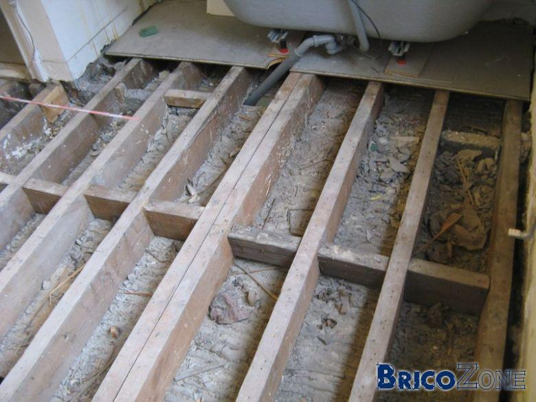 Claquements dans nouveau plancher osb for Plancher bois pour mezzanine
