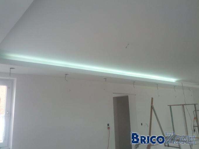 Eclairage indirect avec LED strip