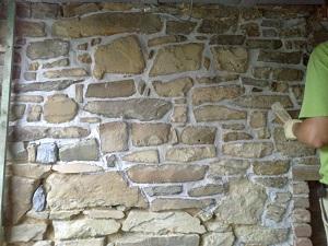 Joint mur interieur à la chaux
