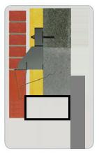 Solution pour maçonner des briques suspendues sur le retour d'une porte de garage ?