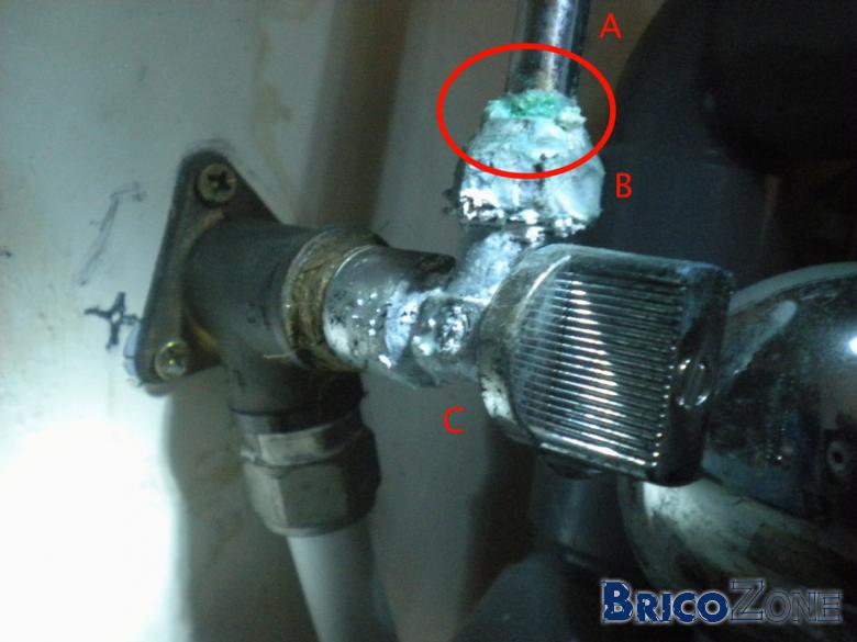 Fuite d'eau : quelles pièces dois-je remplacer ?