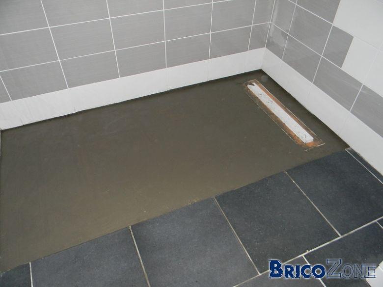 Mosa que pour douche - Natte d etancheite douche ...